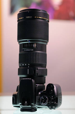 The new Tamron 70-200 f2.8