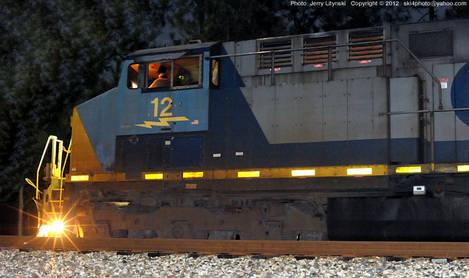 CSX Engine No. 12