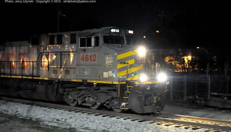 Kansas City Southern Engine No. 4612