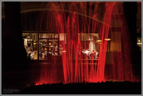 Sony A99 ISO 6400 Night Fountain