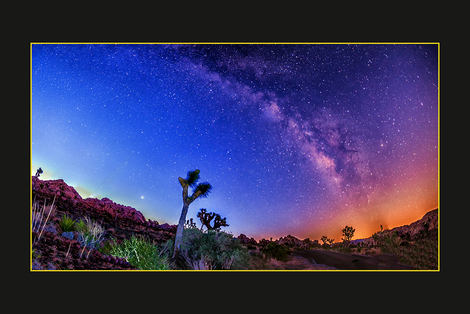 Milky Way of Joshua Tree NP