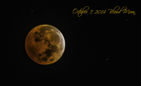 Blood Moon of Oct 8, 2014
