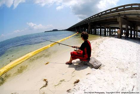 Fishing on Choctawhatchee Bay