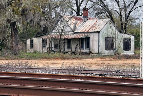 A old house in Walton county