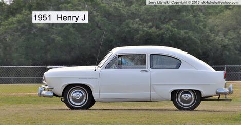 A 1951 automobile - a Henry J