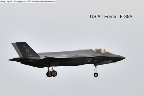 A US Air Force F-35A jet