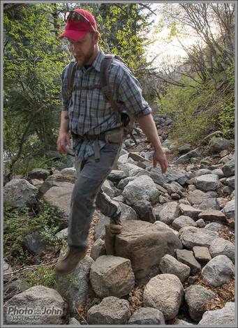 Jake On The Rocks