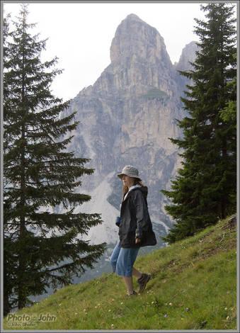 Jenni Hiking - Alta Badia, Italy