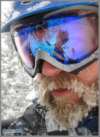 Me, Jenni and The Beard At Solitude