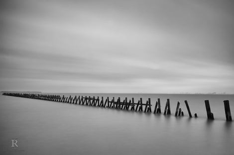Old Pier in Suffolk