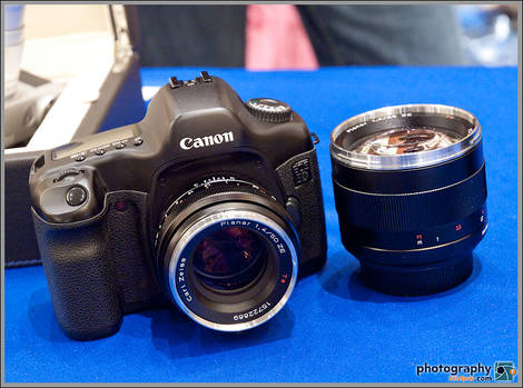 Zeiss For Canon - PMA Sneak Peek