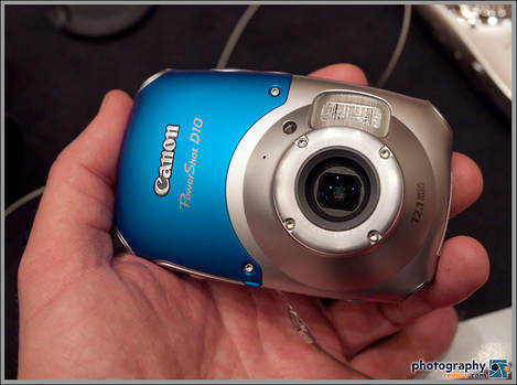 Canon PowerShot D10 - Waterproof And Shockproof