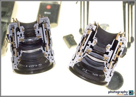 Chopped Leica Tri-Elmar-M Lens