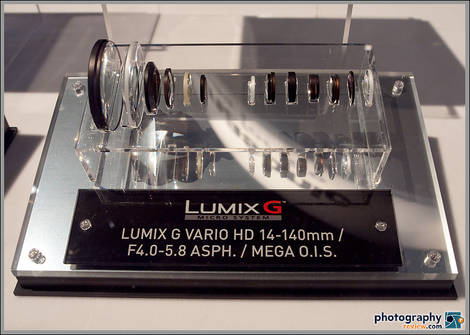 Panasonic 14-140mm Micro Four Thirds Lens - PMA 2009