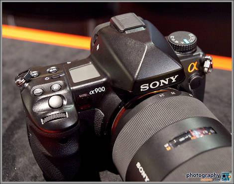 Sony Alpha A900 DSLR - 2009 PMA