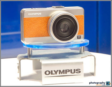 Olympus Micro Four Thirds Concept Camera - PMA