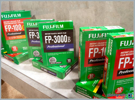 Fujifilm Instant Film At PMA 2009!