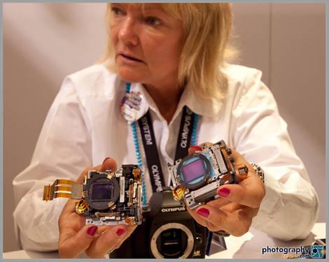 Olympus E-620 Sensor - PMA 2009