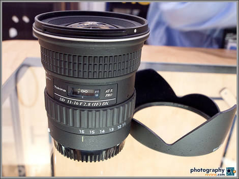Tokina AT-X 116 PRO DX 11-16mm f/2.8 Wide-Angle Zoom Lens
