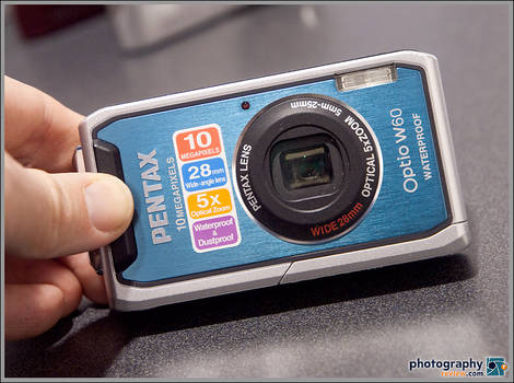 Pentax Optio W60 Waterproof Camera