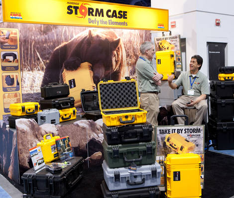 Storm cases booth