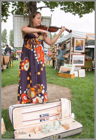 Violinist - Wheeler Farm Farmers Market
