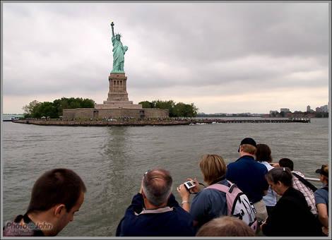 Photographers And Lady Liberty