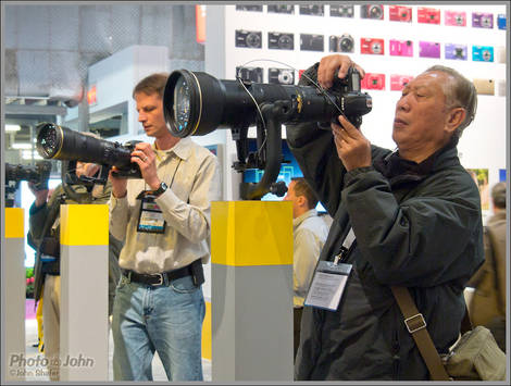 Playing With The Big Lenses - 2011 PhotoPlus Expo