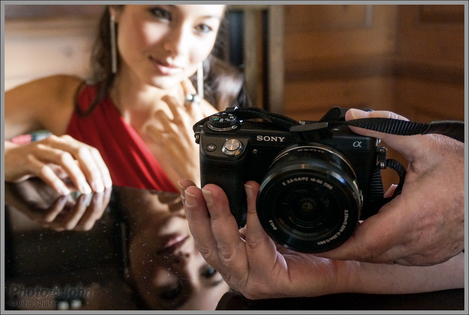 Sharing Photos - Sony NEX-6