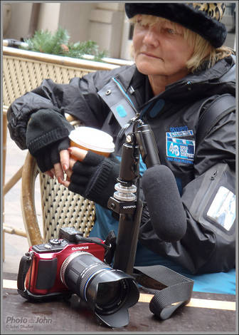 Sally's Olympus E-PL2 Pen Rig
