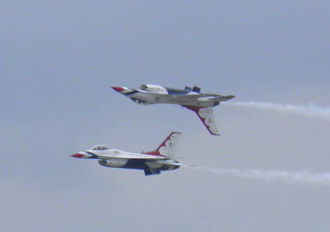 PEASE  AFB   N H   Thunderbirds  2011