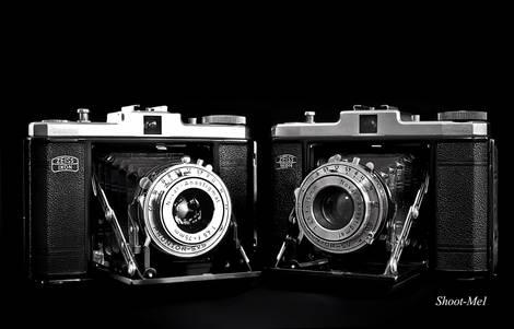 Some old Camera / Film equipment on my shelf