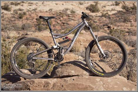 Mountain Bike Beauty Shot - Moab, Utah