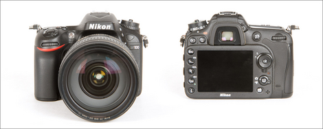 Nikon D7100 - Front & Back