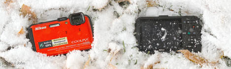 Snowy Nikon Coolpix AW100 - Rugged Waterproof Camera
