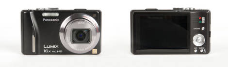Panasonic Lumix ZS10 Pocket Superzoom Camera