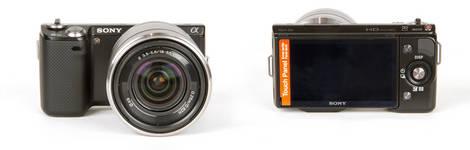 Sony NEX-5N Camera - Front & Back