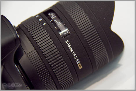 Sigma 8-16mm Rectilinear Lens
