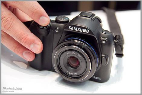 Samsung NX10 - 2010 PMA Sneak Peek