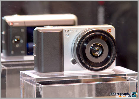 Sony Compact Alpha Concept Camera