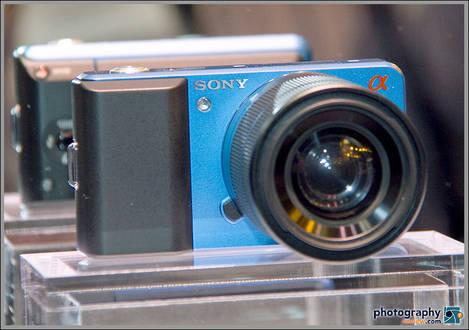Sony Compact Alpha Concept Camera