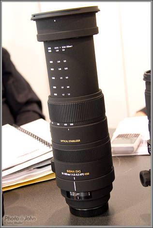 New Sigma 50-500 OS Zoom Lens