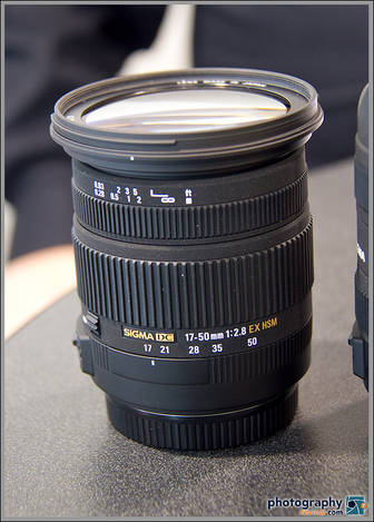 New Sigma 17-50mm f/2.8 OS Zoom Lens