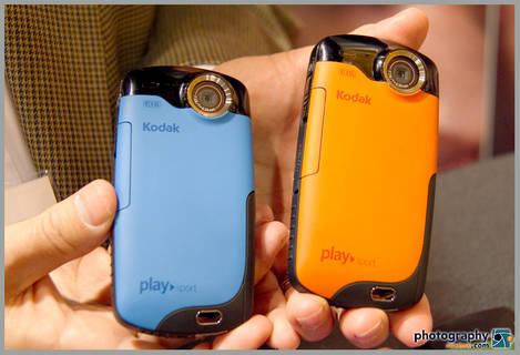 Kodak Playsport Waterproof HD Camera Colors