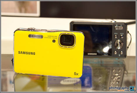 Samsung AQ100 Waterproof Digital Camera - 2010 PMA Tradeshow