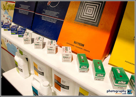 Film & Darkroom Products At Freestyle Photo PMA Booth
