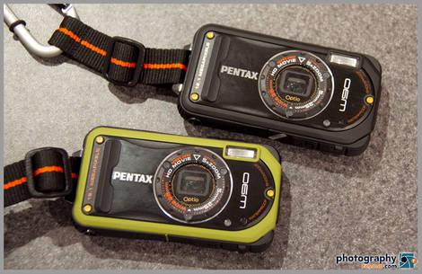 New Pentax Optio W90 Waterproof Camera - 2010 PMA Tradeshow