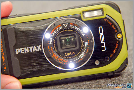 Pentax Optio W90 Macro LED Lights