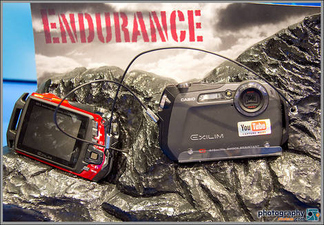 Casio EX-G1 G-Shock Waterproof Camera - 2010 PMA Tradeshow