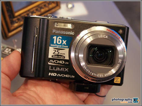 Panasonic Lumix ZS7 Pocket Superzoom - PMA 2010